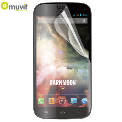Muvit Twin Pack Matte & Glossy Screen Protector for Wiko Darkmoon