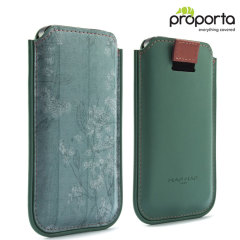 NAF NAF Faux-Leather Paris iPhone 5S / 5 Pouch - Mint Green