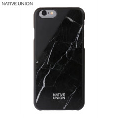 Native Union CLIC Real Marble iPhone 6S / 6 Case - Black