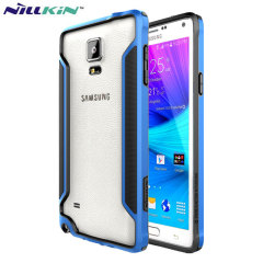 Nillkin Armor Border Samsung Galaxy Note 4 Bumper Case - Blue