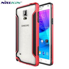 Nillkin Armor Border Samsung Galaxy Note 4 Bumper Case - Red
