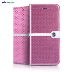 Nillkin Ice iPhone 6 Leather-Style Stand Case - Rose Pink