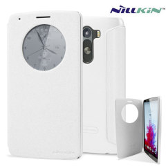 Nillkin LG G3 Circle View Case - White Sparkle