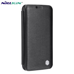 Nillkin Rain Samsung Galaxy S5 Leather-Style Wallet Case - Black