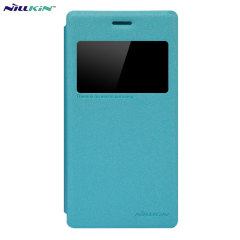 Nillkin Sony Xperia M2 View Case - Blue Sparkle
