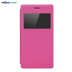Nillkin Sony Xperia M2 View Case - Pink Sparkle