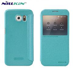 Nillkin Sparkle Big View Window Samsung Galaxy S6 Case - Blue