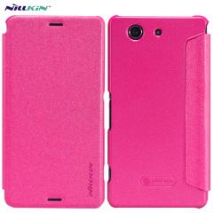 Nillkin Sparkle Folio Sony Xperia Z3 Compact Case - Pink