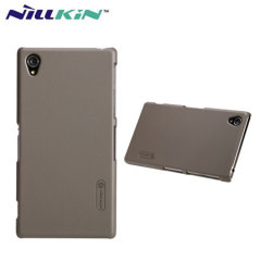 Nillkin Super Frosted Case for Xperia Z1 + Screen Protector - Grey