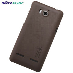 Nillkin Super Frosted Huawei G600 Shield Case - Smoke Black