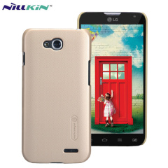 Nillkin Super Frosted LG L90 Dual SIM Shield Case - Gold