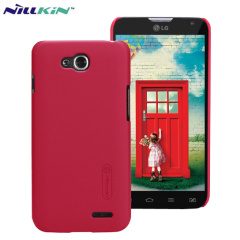 Nillkin Super Frosted LG L90 Shield Case - Red