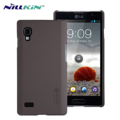 Nillkin Super Frosted LG Optimus L9 Shield Case - Brown