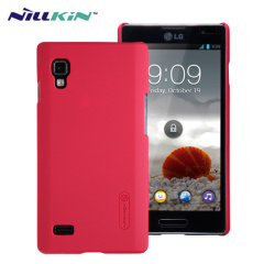 Nillkin Super Frosted LG Optimus L9 Shield Case - Red