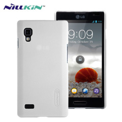 Nillkin Super Frosted LG Optimus L9 Shield Case - White