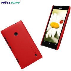Nillkin Super Frosted Nokia Lumia 520 Shield Case - Red