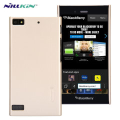 Nillkin Super Frosted Shield BlackBerry Z3 Case - Gold