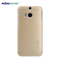 Nillkin Super Frosted Shield HTC One M8 Case - Gold