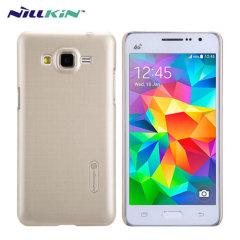Nillkin Super Frosted Shield Samsung Galaxy Grand Prime Case - Gold