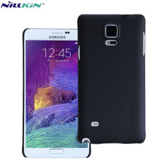 Nillkin Super Frosted Shield Samsung Galaxy Note 4 Case - Black