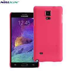 Nillkin Super Frosted Shield Samsung Galaxy Note 4 Case - Red