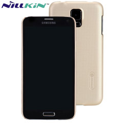 Nillkin Super Frosted Shield Samsung Galaxy S5 Case - Gold