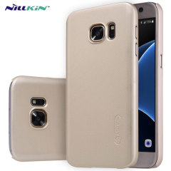 Nillkin Super Frosted Shield Samsung Galaxy S7 Case - Gold