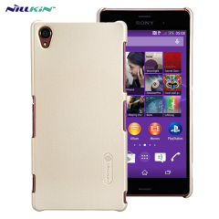 Nillkin Super Frosted Shield Sony Xperia Z3 Case - Gold