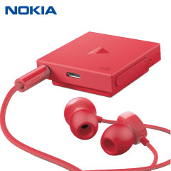 Nokia BH-121 Bluetooth Stereo Headset - Red