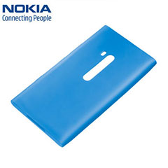 Nokia CC-1037 Soft Cover for Lumia 900 - Cyan