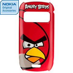 Nokia CC-5002 Angry Birds Hard Cover for C6-01 - Red Bird