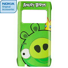 Nokia CC-5004 Angry Birds Hard Cover for X7 - Pig King
