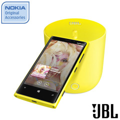 Nokia JBL Playup Portable Wireless Speaker - MD-51WYL - Yellow
