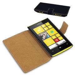 Nokia Lumia 520 Folio Book Case - Black