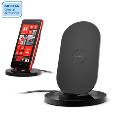 Nokia Lumia 820 / 920 Qi Wireless Charging Stand - DT-910BK - Black