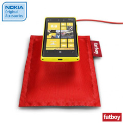 Nokia Lumia 820 / 920 Wireless Charging Fatboy Pillow DT-901RD - Red