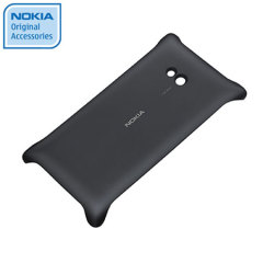 Nokia Original Lumia 720 Wireless Charging Shell CC-3064BK - Black