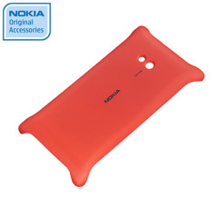Nokia Original Lumia 720 Wireless Charging Shell CC-3064RED - Red