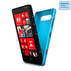 Nokia Original Lumia 820 Wireless Charging Shell CC-3041CY - Cyan