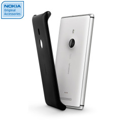 Nokia Original Lumia 925 Wireless Charging Shell CC-3065BLK - Black