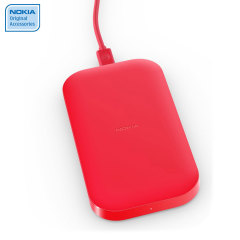 Nokia Portable Wireless Charging Plate DC-50 - 2400mAh - Red