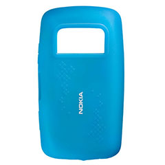 Nokia Silicone Cover CC-1013 for Nokia C6-01 - Blue
