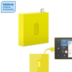 Nokia Universal Portable Micro USB Charger DC-18 - Yellow