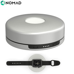 Nomad Pod Apple Watch Series 2 / 1 Portable Charger - Silver