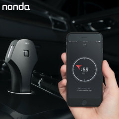 Nonda Zus 2 Port 4.8A Smart Car Charger & Car Locator