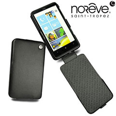 Noreve Tradition A Leather Case for HTC HD7 - Black