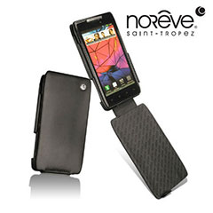 Noreve Tradition A Leather Case for Motorola RAZR XT910 - Black