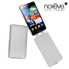 Noreve Tradition A Leather Case for Samsung Galaxy S2 i9100 - White