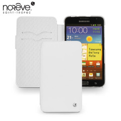 Noreve Tradition B Leather Case for Samsung Galaxy Note - White