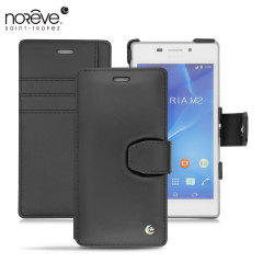 Noreve Tradition B Sony Xperia M2 Leather Case - Black